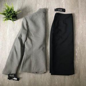 New Le Suit Blazer & Skirt Suit